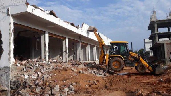 achampet mallamkunta constructions dismantling