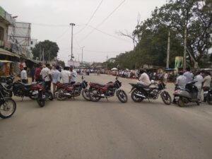 Achampet rtc employees conducted bike ryali