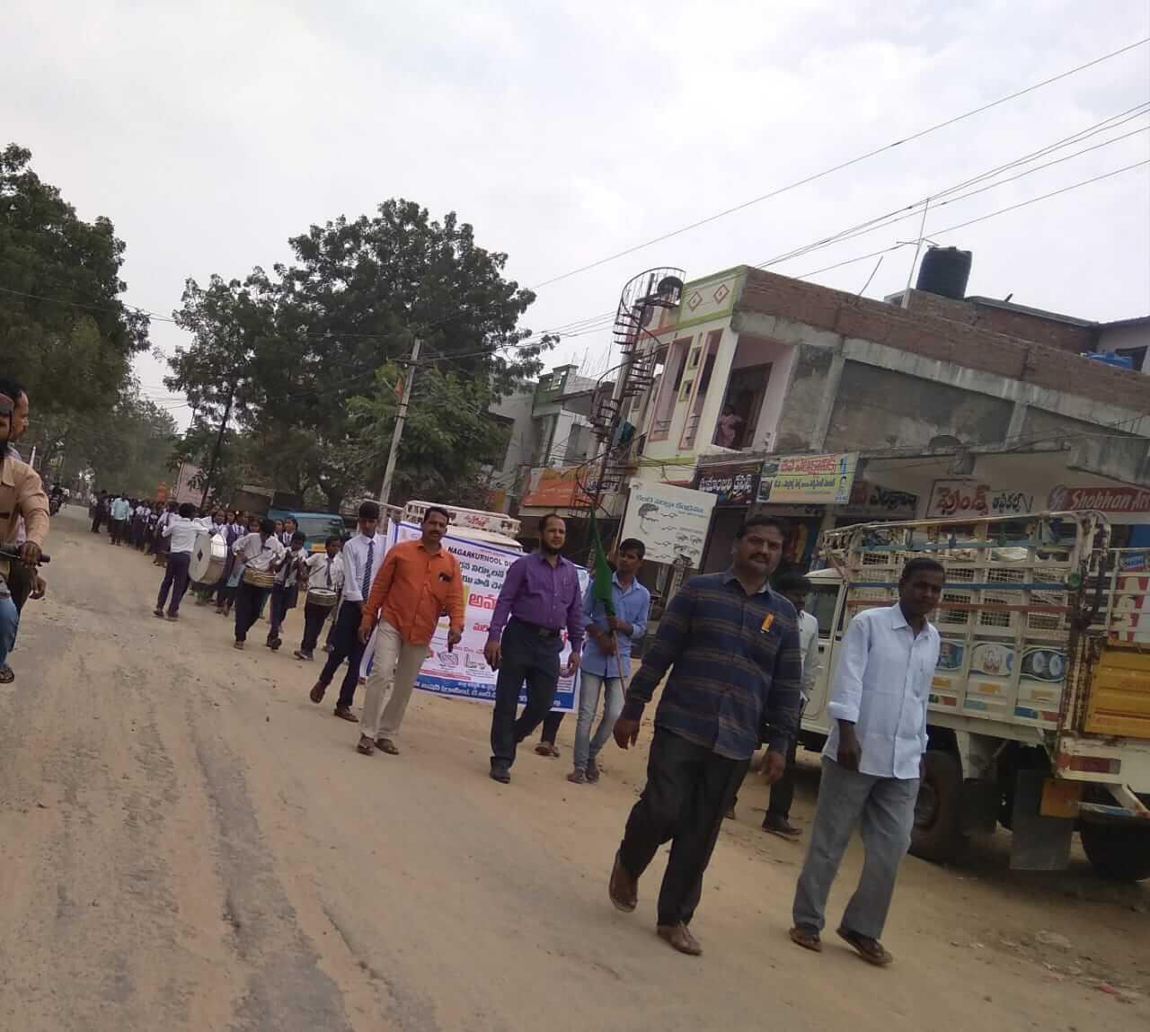Swach bharath in telkapally