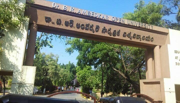 Ambedkar university degree exam fee notification