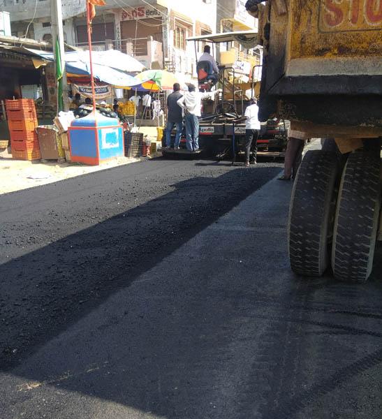 achampeta new rod construction work