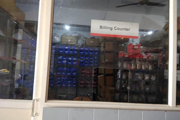 Honda-showroom-billing-counter-achampet