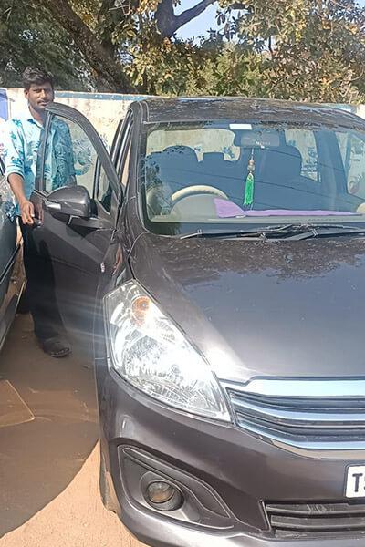 Ertiga Car rentals in achampet