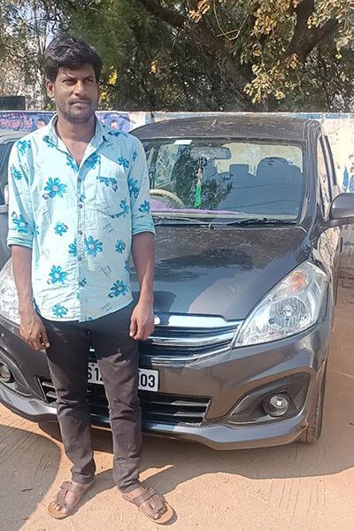 Maruti Ertiga Car Rentals in\ Achampet