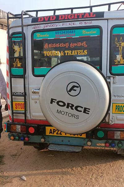 Sri Kanaka durga Travels and van rentals achampet